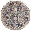 """Loloi Porcia PB-06 7' 10"""" x 7' 10"""" Round Rug in Blue and Beige (PORCPB-06BBBE7A0R)"""