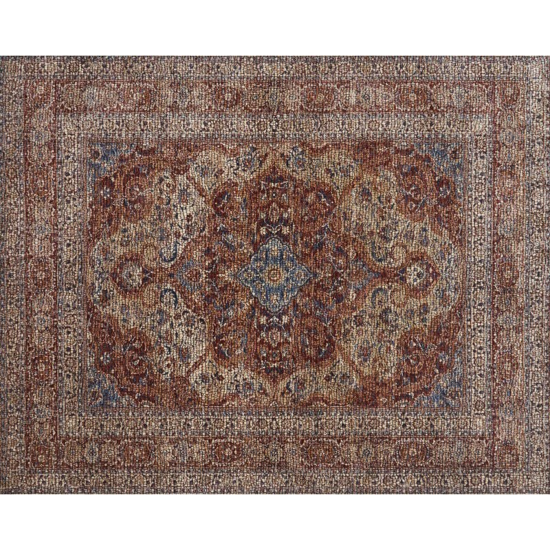 "Loloi Porcia PB-07 7' 10"" x 10' Rectangle Rug in Adobe Spice (PORCPB-07ADAD7AA0)"