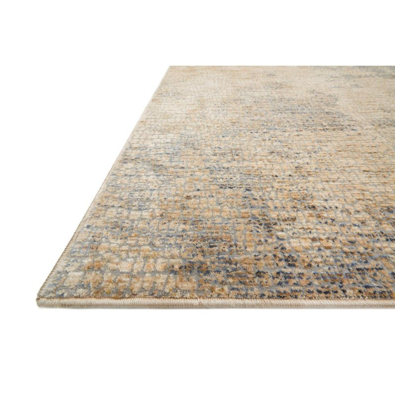 """Loloi Porcia PB-11 1' 6"""" x 1' 6"""" Square Rug in Beige and Multi (PORCPB-11BEML160S)"""