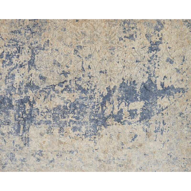 "Loloi Porcia PB-13 1' 6"" x 1' 6"" Square Rug in Beige and Blue (PORCPB-13BEBB160S)"