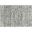 """Loloi Quincy QC-01 Shags Rectangle Rug 2' 3"""" x 4' in Graphite and Sand (QNCYQC-01GTSA2340)"""