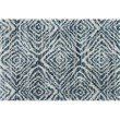 """Loloi Quincy QC-01 Shags Rectangle Rug 2' 3"""" x 4' in Ocean and Pebble (QNCYQC-01OCPP2340)"""