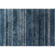 "Loloi Quincy QC-05 Shags Rectangle Rug 3' 3"" x 6' in Navy and Pewter (QNCYQC-05NVPW3360)"