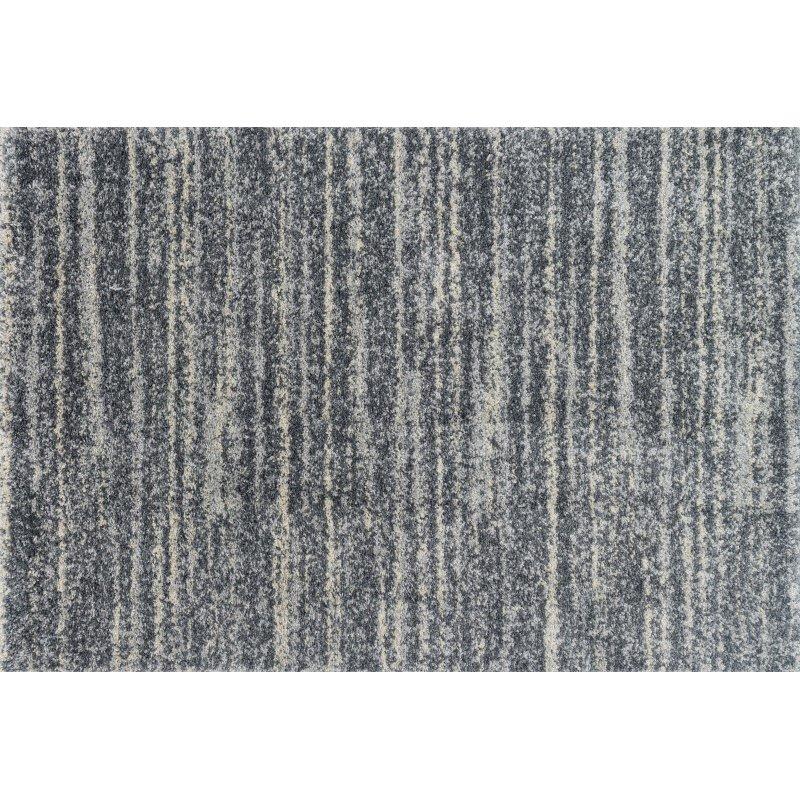 "Loloi Quincy QC-05 Shags Runner Rug 2' 3"" x 12' in Granite (QNCYQC-05GN0023C0)"