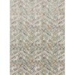 "Loloi Reid RED-01 Contemporary Power Loomed 1' 6"" x 1' 6"" Sample Swatch Rug in Morning Mist (REIDRED-01MM00160S)"