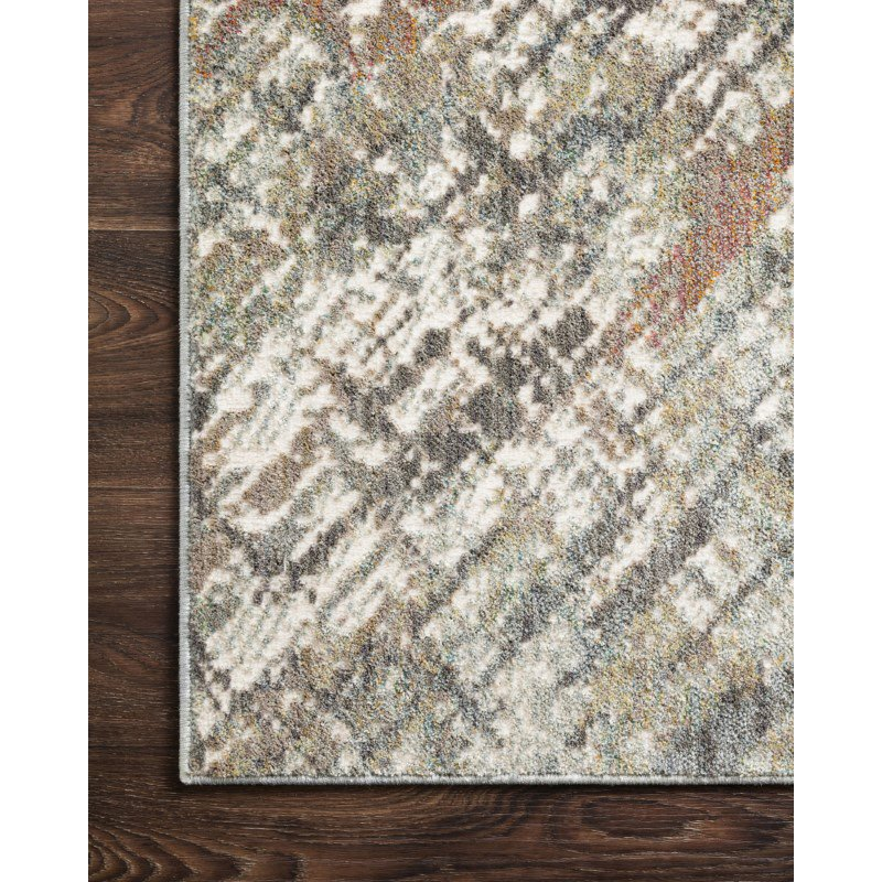 "Loloi Reid RED-01 Contemporary Power Loomed 3' 7"" x 5' 7"" Rectangle Rug in Morning Mist (REIDRED-01MM003757)"