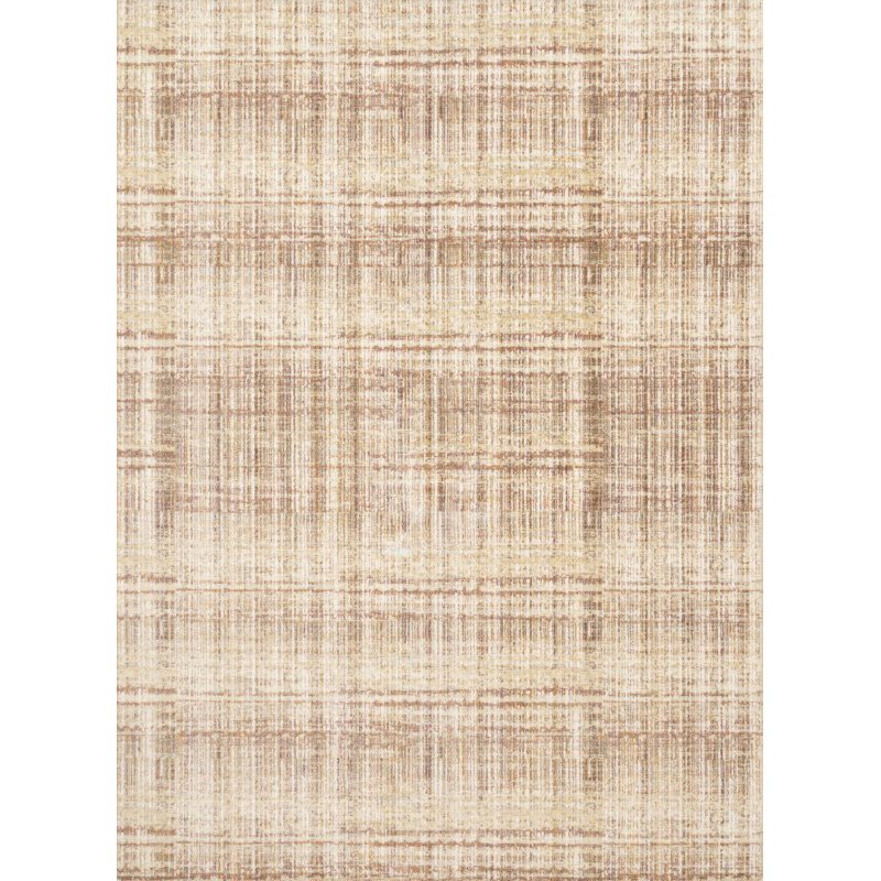 """Loloi Reid RED-04 Contemporary Power Loomed 5' 3"""" x 7' 8"""" Rectangle Rug in Rust (REIDRED-04RU005378)"""
