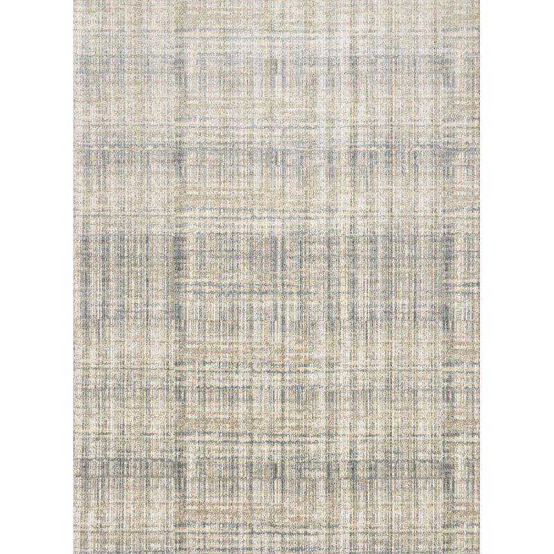 "Loloi Reid RED-04 Contemporary Power Loomed 9' 6"" x 13' Rectangle Rug in Bluestone (REIDRED-04ZV0096D0)"