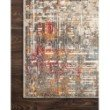 "Loloi Reid RED-05 Contemporary Power Loomed 11' 6"" x 15' Rectangle Rug in Multi (REIDRED-05ML00B6F0)"