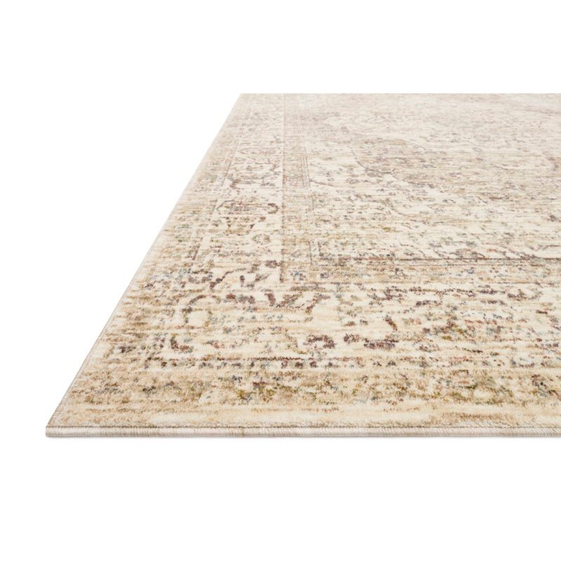"""Loloi Revere REV-04 Traditional 2' x 3' 2"""" Rectangle Rug in Ivory and Berry (REVRREV-04IVBY2032)"""