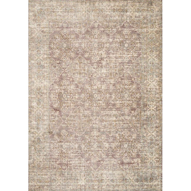 "Loloi Revere REV-05 Traditional 2' x 3' 2"" Rectangle Rug in Lilac (REVRREV-05LI002032)"