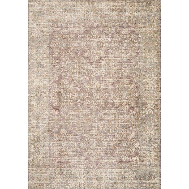 "Loloi Revere REV-05 Traditional 7' 10"" x 7' 10"" Round Rug in Lilac (REVRREV-05LI007A0R)"