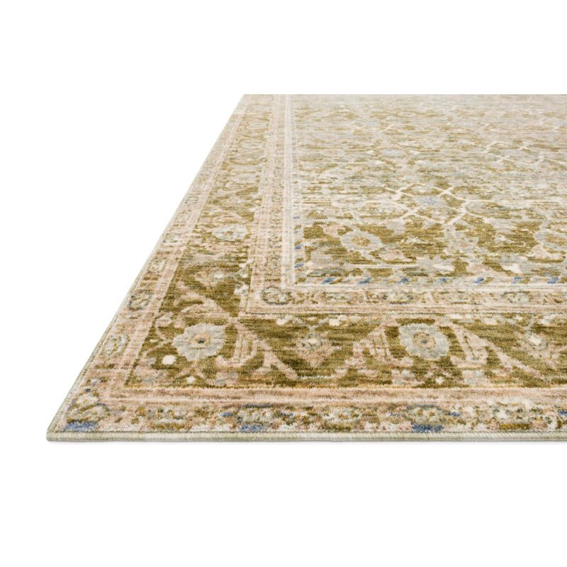 "Loloi Revere REV-07 Traditional 2' x 3' 2"" Rectangle Rug in Avocado and Multi (REVRREV-07AVML2032)"