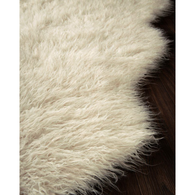 Loloi Rory RB-01 2' x 3' Rectangle Rug in Ivory and Beige (RORYRB-01IVBE2030)