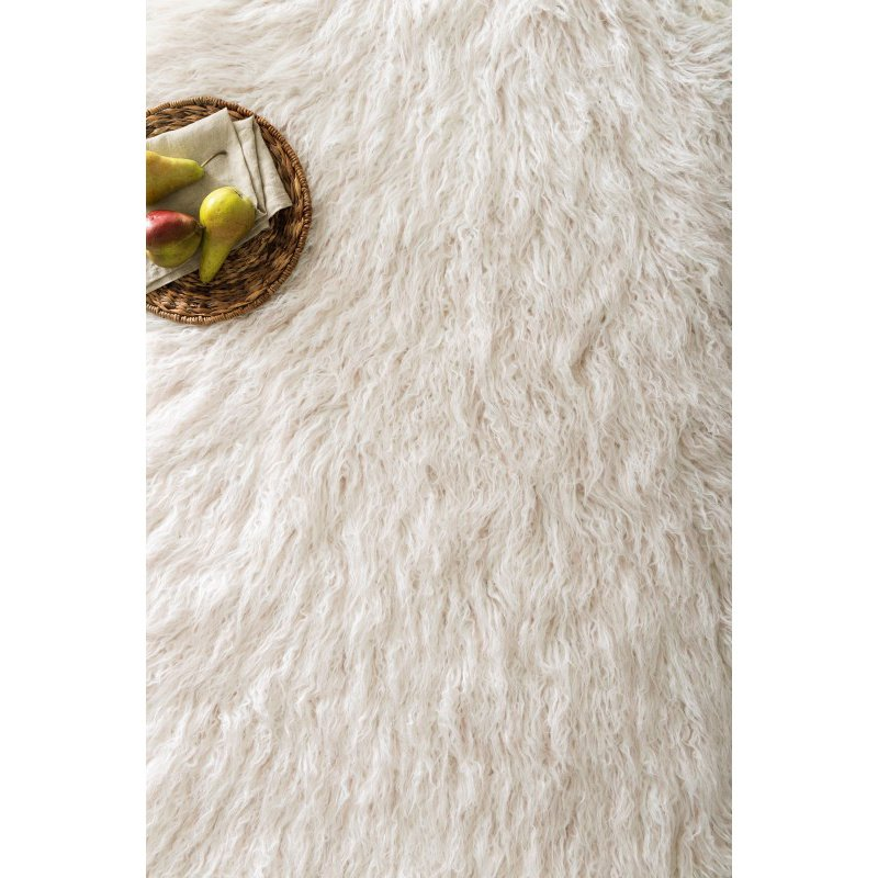 Loloi Rory RB-01 2' x 3' Rectangle Rug in Ivory and Lilac (RORYRB-01IVLI2030)