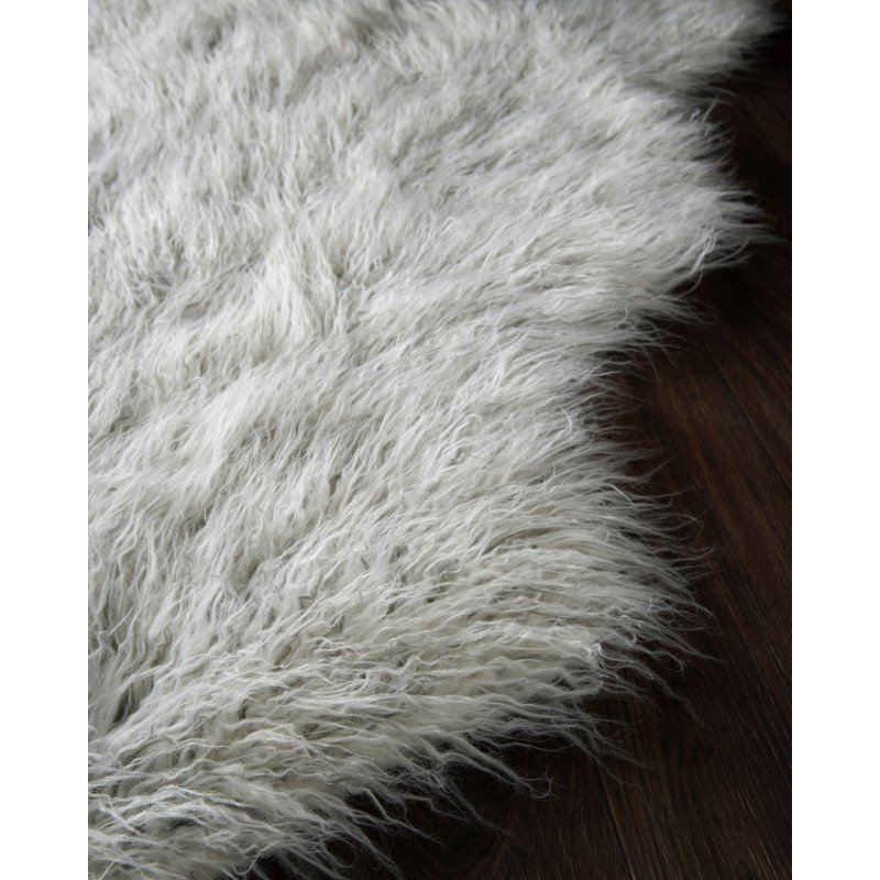 Loloi Rory RB-01 3' x 5' Rectangle Rug in Ivory and Silver (RORYRB-01IVSI3050)
