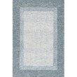 """Loloi Rosina ROI-01 Contemporary Hand Tufted 3' 6"""" x 5' 6"""" Rectangle Rug in Aqua (ROSIROI-01AQ003656)"""