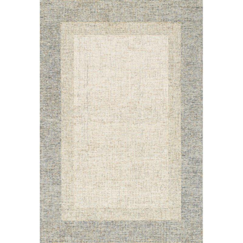 "Loloi Rosina ROI-01 Contemporary Hand Tufted 5' x 7' 6"" Rectangle Rug in Sand (ROSIROI-01SA005076)"