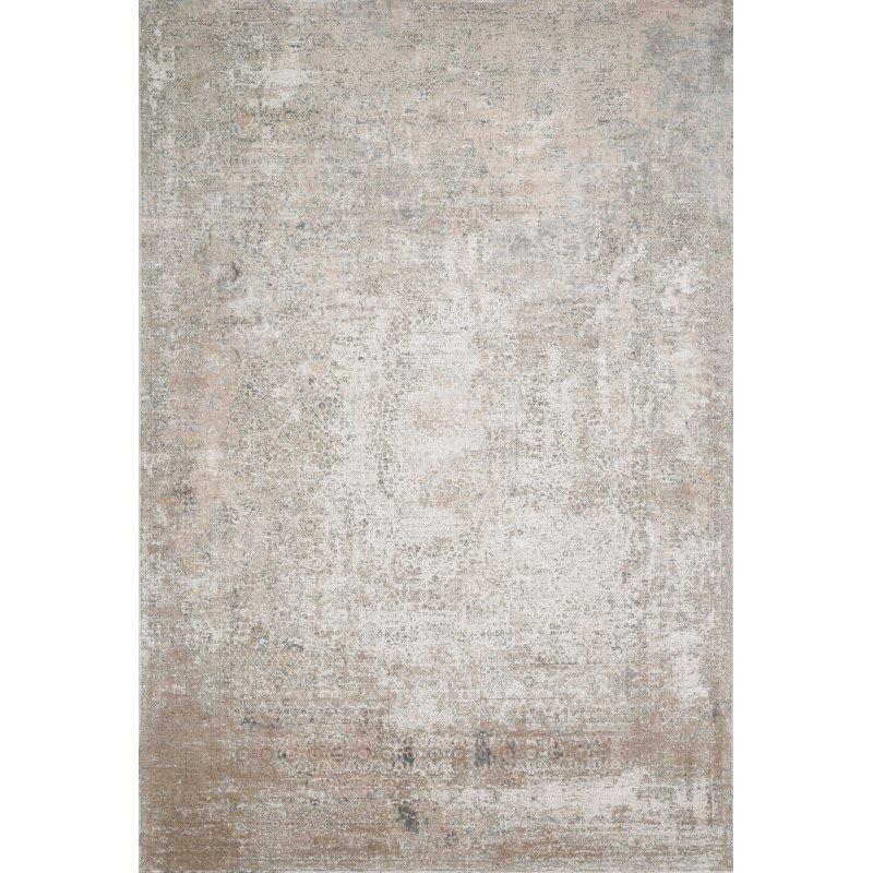 "Loloi Sienne SIE-01 Contemporary Power Loomed 2' 7"" x 8' Runner Rug in Ivory and Pebble (SIENSIE-01IVPP2780)"