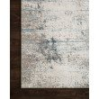 """Loloi Sienne SIE-02 Contemporary Power Loomed 5' 3"""" x 7' 8"""" Rectangle Rug in Ivory and Ocean (SIENSIE-02IVOC5378)"""