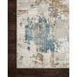 """Loloi Sienne SIE-04 Contemporary Power Loomed 2' 7"""" x 12' Runner Rug in Ivory and Gold (SIENSIE-04IVGO27C0)"""