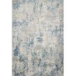 "Loloi Sienne SIE-06 Contemporary Power Loomed 5' 3"" x 7' 8"" Rectangle Rug in Grey and Blue (SIENSIE-06GYBB5378)"
