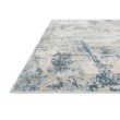 "Loloi Sienne SIE-06 Contemporary Power Loomed 7' 10"" x 10' 10"" Rectangle Rug in Grey and Blue (SIENSIE-06GYBB7AAA)"