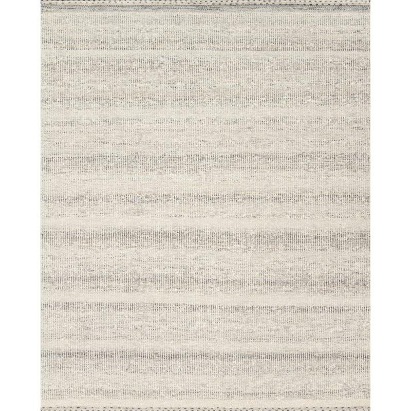 "Loloi Sloane SLN-01 Contemporary Hand Woven 5' x 7' 6"" Rectangle Rug in Smoke (SLOASLN-01SK005076)"