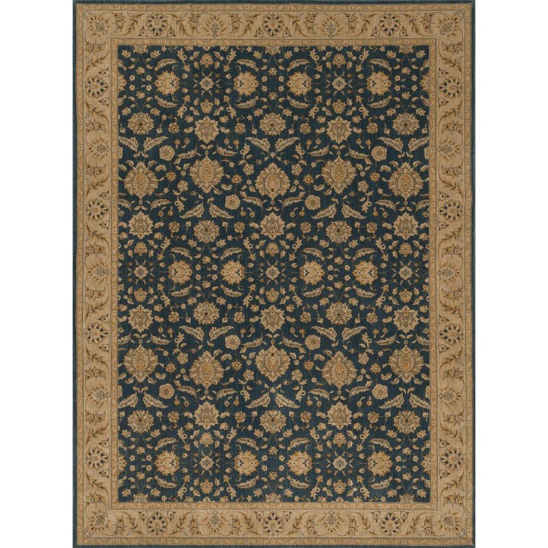 "Loloi Stanley ST-08 Rug 9' 8"" x 12' 8"" Denim and Beige Rectangle"