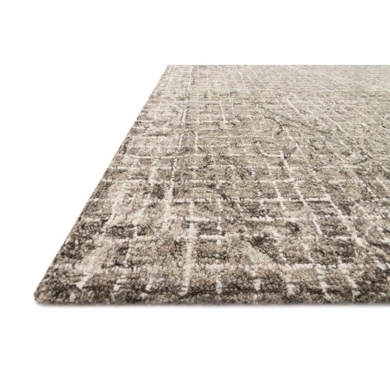 """Loloi Tatum TW-05 5' x 7' 6"""" Rectangle Rug in Pewter and Stone (TATUTW-05PWSN5076)"""