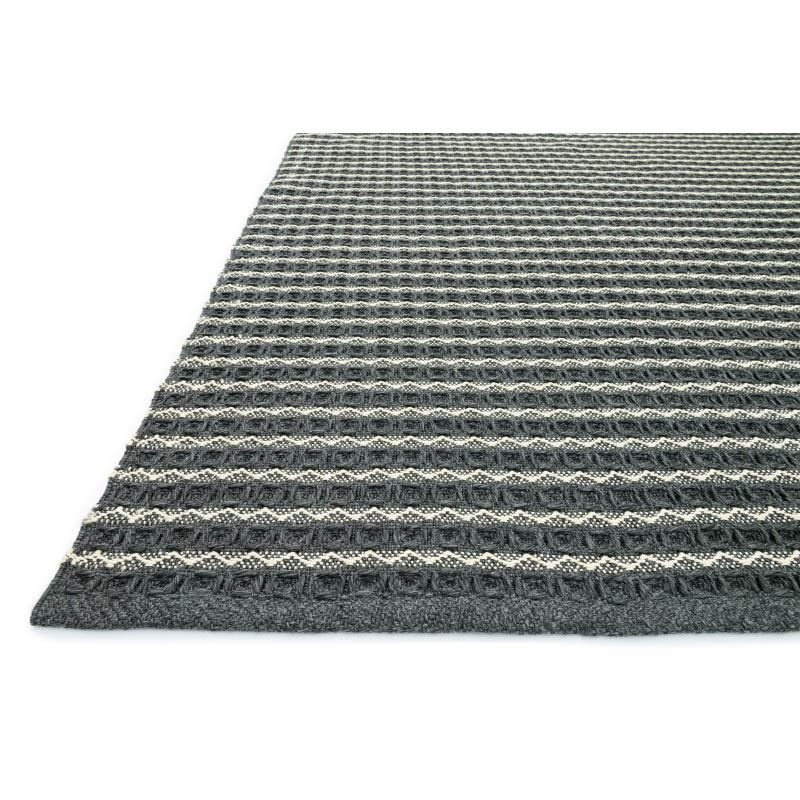 "Loloi Terra TE-02 Rug 9' 3"" x 13' Charcoal Rectangle"