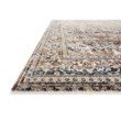Loloi Theia THE-05 Traditional Power Loomed 5' x 8' Rectangle Rug in Taupe and Brick (THEITHE-05TABK5080)
