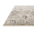 "Loloi Theia THE-06 Traditional Power Loomed 3' 7"" x 5' 2"" Rectangle Rug in Granite and Ivory (THEITHE-06GNIV3752)"