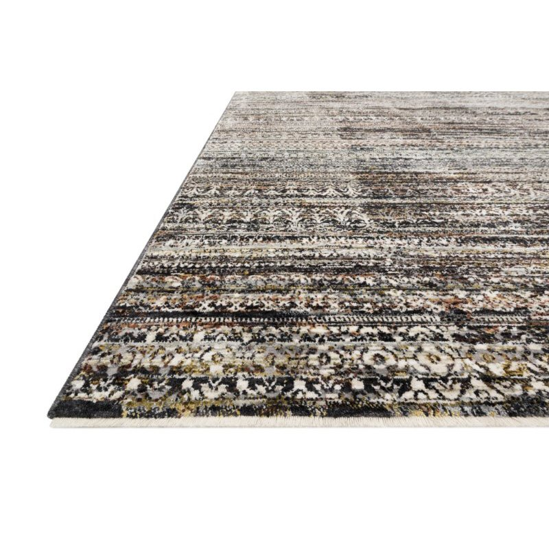 """Loloi Theia THE-08 Traditional Power Loomed 2' x 3' 7"""" Rectangle Rug in Grey and Multi (THEITHE-08GYML2037)"""