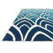 """Loloi Venice Beach VB-20 Rug 3' 6"""" x 5' 6"""" Blue Rectangle"""