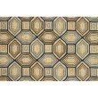 "Loloi Venice Beach VB-25 7' 6"" x 9' 6"" Rectangle Rug in Camel and Navy (VENIVB-25CANV7696)"