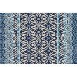 "Loloi Venice Beach VB-26 2' 3"" x 3' 9"" Rectangle Rug in Blue and Ivory (VENIVB-26BBIV2339)"