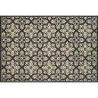 "Loloi Venice Beach VB-28 7' 6"" x 9' 6"" Rectangle Rug in Ivory and Grey (VENIVB-28IVGY7696)"