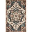 "Loloi Victoria VK-16 Traditional 2' 6"" x 7' 6"" Runner Rug in Blue and Red (VITRVK-16BBRE2676)"