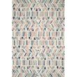 "Loloi x Justina Blakeney Hallu HAL-01 Contemporary Hooked 5' x 7' 6"" Rectangle Rug in Ivory and Multi (HALUHAL-01IVML5076)"