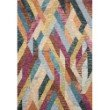 "Loloi x Justina Blakeney Hallu HAL-02 Contemporary Hooked 3' 6"" x 5' 6"" Rectangle Rug in Fiesta and Multi (HALUHAL-02FDML3656)"