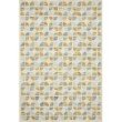 """Loloi x Justina Blakeney Hallu HAL-04 Contemporary Hooked 2' 3"""" x 3' 9"""" Rectangle Rug in Ivory and Sky (HALUHAL-04IVSC2339)"""