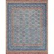 "Loloi x Justina Blakeney Priti PRT-01 Contemporary Hooked 7' 9"" x 9' 9"" Rectangle Rug in Teal and Fiesta (PRITPRT-01TEFD7999)"