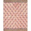 "Loloi x Justina Blakeney Priti PRT-06 Contemporary Hooked 2' 6"" x 9' 9"" Runner Rug in Pink and Sunset (PRITPRT-06PISS2699)"