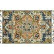 """Loloi Zharah ZR-11 5' x 7' 6"""" Rectangle Rug in Blue and Multi (ZHARZR-11BBML5076)"""