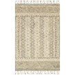 "Loloi Zharah ZR-14 Transitional Hooked 3' 6"" x 5' 6"" Rectangle Rug in Sand and Ivory (ZHARZR-14SAIV3656)"