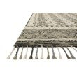 "Loloi Zharah ZR-14 Transitional Hooked 5' x 7' 6"" Rectangle Rug in Charcoal and Taupe (ZHARZR-14CCTA5076)"