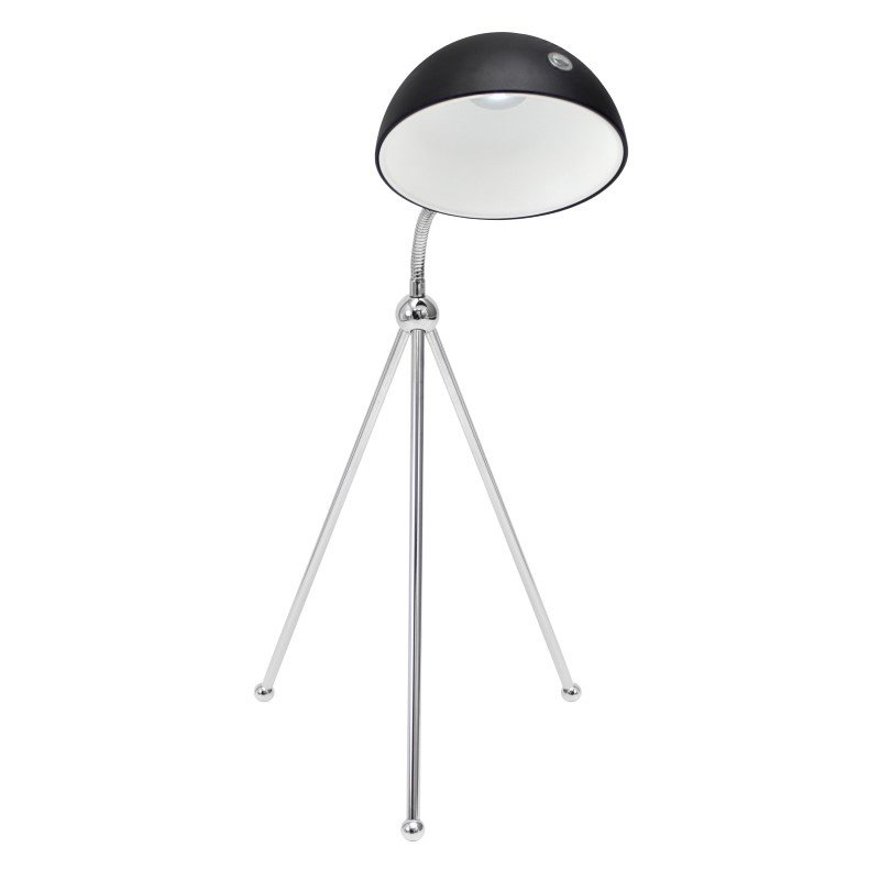 Lumisource Capello Led Table Lamp in Chrome and Black
