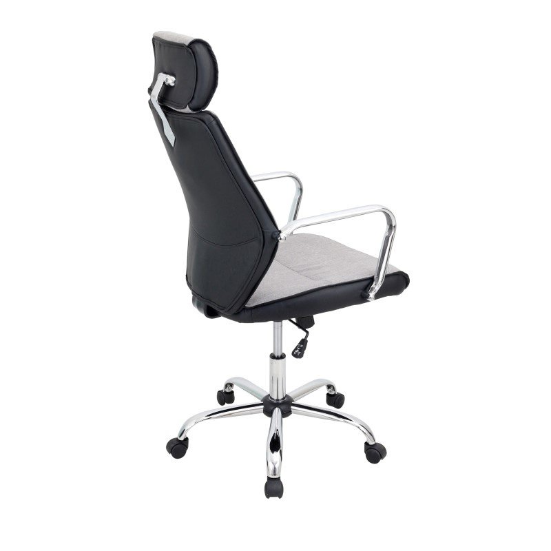 Lumisource Capitol Office Chair in Charcoal