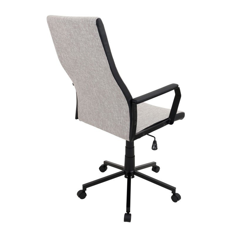 Lumisource Congress Height Adjustable Office Chair in Tan